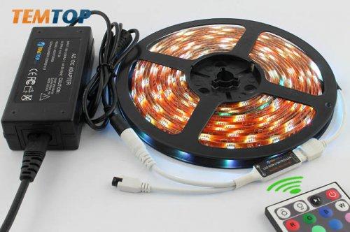 LED Komplettset RGB Wasserdicht  5m Streifen
