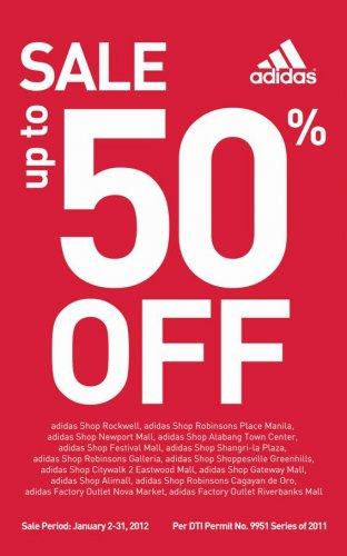 [Offline/Online - Adidas] SALE! Bis zu 50% Rabatt