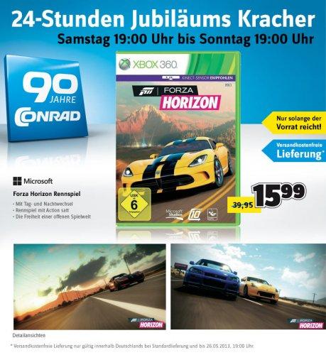 Microsoft Forza Horizon Rennspiel XBOX 360 USK 6 zum Preis von 15,99 Euro statt 39,95Euro