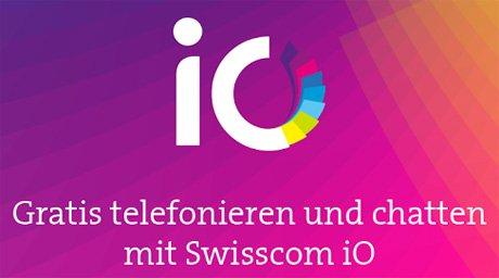 Swisscom iO: kostenlos Nachrichten senden UND Telefonieren: die bessere Alternative zu Whats App?! Für iOS und Android ...