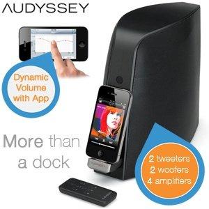Audyssey South of Market Speaker Dock mit Bluetooth für 139€ + 5,95€ Versand @iBOOD