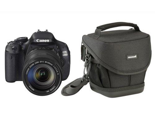 CANON EOS 600D + 18-55mm III Kit inkl. Cullmann Kameratasche