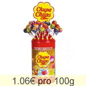 100x Chupa Chups Best of Lolli fuer 12,75€ @Ebay