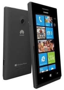 "Huawei™ - Smartphone ""Ascend W1"" (4"" IPS 800x480, DC 1.2GHz, 4GB, 5MP AF/LED Cam, WP8) ab €132,17 [@eBay.de]"