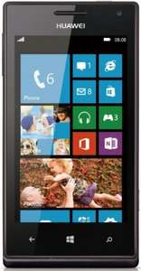 Windows Phone 8 mit Dualcore-Prozessor Huawei Ascend W1 black für 134,90 € @ getgoods (idealo Best: 162,85 €)