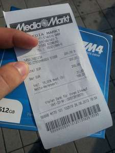(lokal nienburg weser)  crucial m4 512Gb SSD