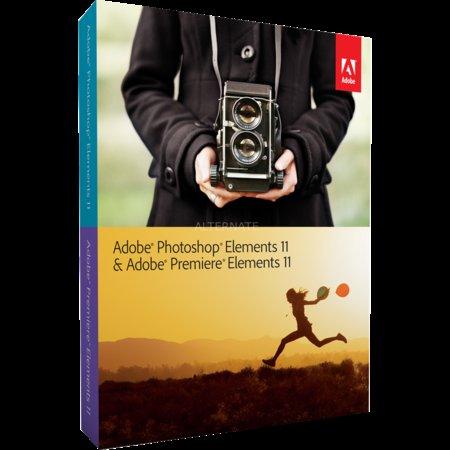 Software Photoshop Elements 11 & Premiere Elements 11 (Win/Mac) für 49,99 € @ zackzack