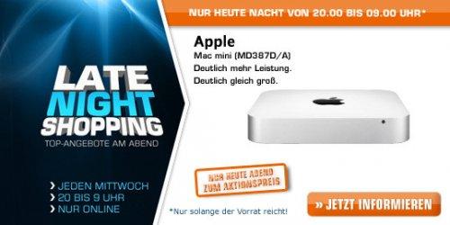 APPLE Mac mini 2,5 GHz dual-Core Intel Core i5 MD387D/A ggf. qipu @Saturn