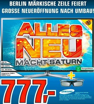 [lokal - Berlin] Samsung UE55F6100 für 777€ @Saturn