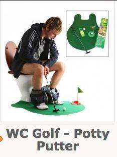 @megagadgets.de: WC Golf - Potty Putter :-) für 7,95€ + 4,95€ VK