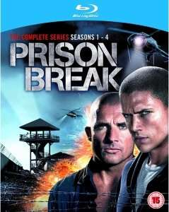 Prison Break - The Complete Blu-Ray Collection Blu-ray OV   @ Zavvi [~41,12€]