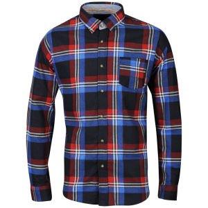 Brave Soul Men's Renoir Checked Shirt für 10€ @TheHut