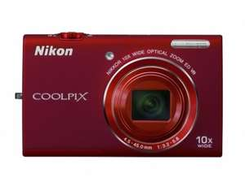 Nikon Coolpix S6200 rot Digitalkamera für 89,99 € @ MP OHA