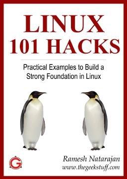 Linux 101 Hacks eBook, by Ramesh Natarajan