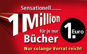 1 Millionen Bücher für je 1 Euro bei Weltbild