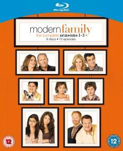 [Blu-ray] Modern Family Season 1-3 für 26€ @ Thehut