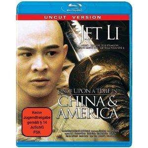 Jet Li - Once upon a time in China and America [Blu-ray] bei Amazon.de ab 5,38€ inkl. Versand