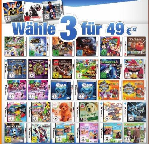 (Lokal) Expert Bening - 3 für 49€ - 3DS/DS Spiele