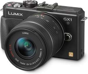 Panasonic Lumix DMC-GX1 + Lumix G Vario 14-42mm für 360.-