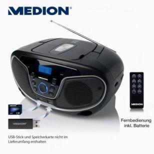 [Aldi Essen Donnerstr. 228] Medion Life E66224 (MD 84101) Stereo-Sound-System für 25€