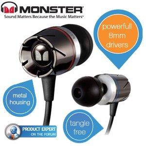 [iBOOD] Monster Turbine™ High Performance In-Ear Speakers™