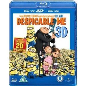 Ich - Einfach unverbesserlich - Despicable Me (Blu-ray + Blu-ray 3D) nur 11,83 Euro @Play.com