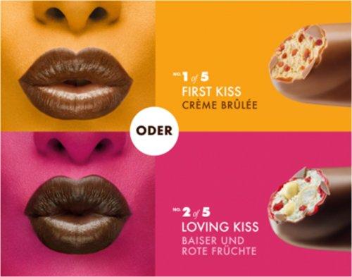 [Offline] Magnum 5 kisses – Crème Brûlée oder Baiser und Rote Früchte Eis gratis @ real,- - UPDATE!!!