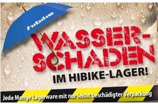 HIBIKE - stark reduzierte Artikel rund ums Fahrrad (teils bis über 80%), wegen Wasserschaden im Lager!