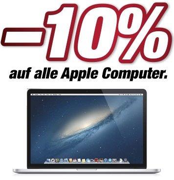 10% auf alle Apple MacBooks und Computer bei DiTech