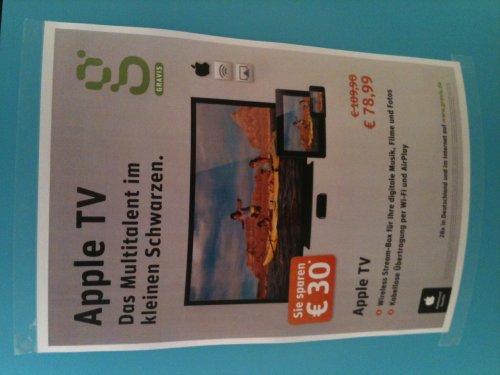 [LOKAL, KÖLN] AppleTV bei Gravis EUR 78.99
