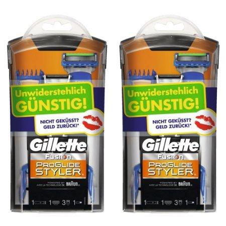 Gillette Fusion ProGlide Styler 2er Pack @amazon Blitzangebot