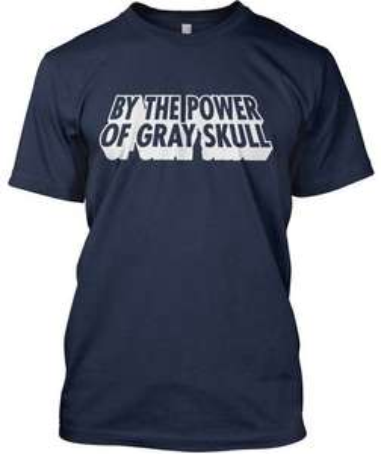 T-Shirt [Bei der Macht von Gray Skull] für 14,41€ @Ebay