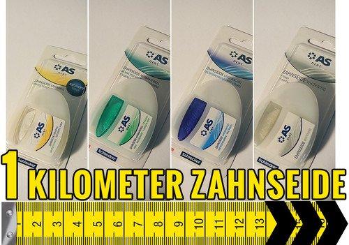 Zahnseide - 1km für 9,99€, 500m für 5,99 €