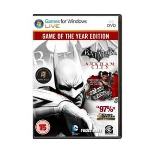 [Steamkey] Batman Arkham City GotY @ GetGamesGo