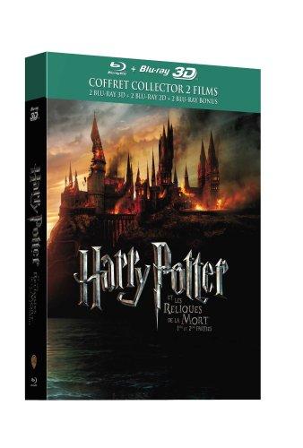 Harry Potter und die Heiligtümer des Todes, Teil 1 und 2 [Blu-Ray 2D-3D] (6 Discs) inkl. Vsk für 24,90 € @ Amazon Frankreich
