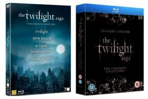 The Twilight Saga: The Complete Collection Blu-ray OV @ Play.com 33,17€