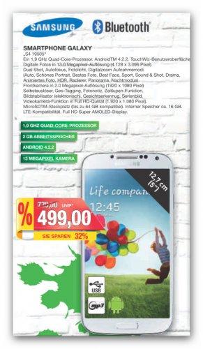 """""""Lokal Bielefeld und Umgebung""""  Samsung I9505 Galaxy S4 16GB bei Marktkauf"""