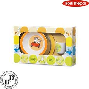 ROSTI MEPAL Kindergeschirr  - Set 3-tlg  Miffy Holiday