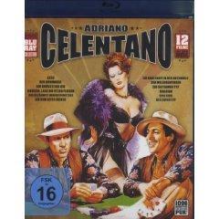 Adriano Celentano - Blu Ray Collection 12 seiner Filme auf einer Disc bei Amazon
