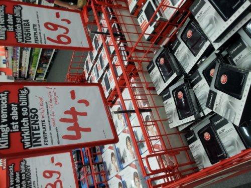 [LOKAL?/89077 Ulm --> MediaMarkt]  Intenso Memory Station 750GB 2,5'' für 44€
