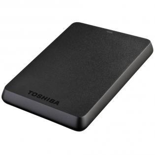 Toshiba HDTB110EK3BA STOR.E Basics 1TB externe Festplatte  (2,5 Zoll) USB 3.0) schwarz 59,99€