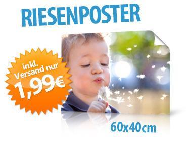 Fotoposter 60x40cm (Hochglanz) für 1,99 EUR inkl. Versand