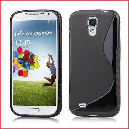 S-Line Silikon Hülle für Samsung Galaxy S4 in schwarz