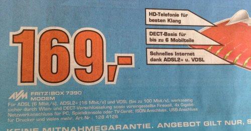 [Lokal Bremen] Saturn AVM FRITZ!Box 7390