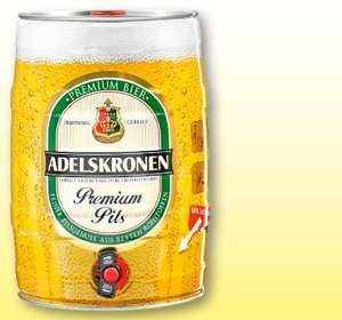 ADELSKRONEN Premium-Pils 5 Liter Dose @Penny