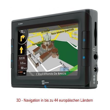 Navigationsgerät TeleSystem TS-8800 DVB-T Europa
