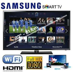 **iBood**  Samsung 32F5300 Full-HD LED SmartTV   299,95€ + (8,95) (Inkl. MwSt.)