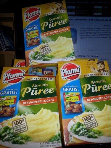 [REWE bundesweit!?] Pfanni Kartoffelpüree + Knorr Fix Hackbraten Packung für 0,99€