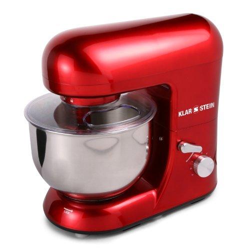 [Amazon WHD] Klarstein TK2-Mix8-R Bella Rossa Küchenmaschine, 1200W, 5 Liter rot  50% Ersparnis!