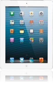 iPad 4 WiFi / 4G in weiss 16 GB -BASE- für 481€ mit 2 Jahresvertrag